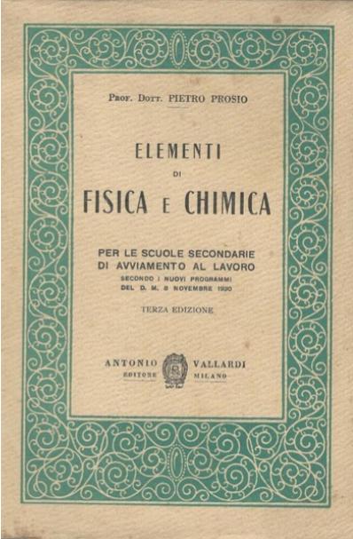 1AGC -S.I. Chimica  Fisica  e laboratorio 19/20