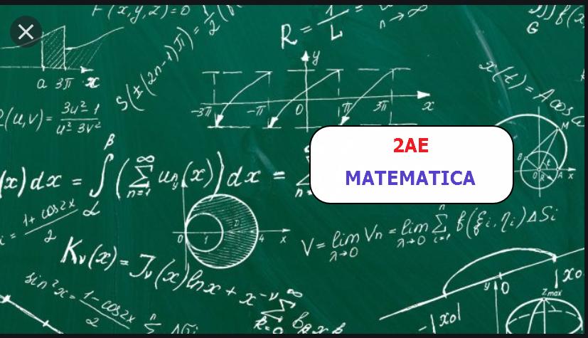 2AE - Matematica 2019/2020