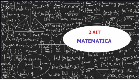 2AIT - Matematica 2019/2020